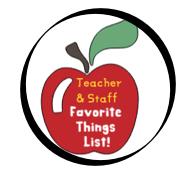 Teacher Favorite Things